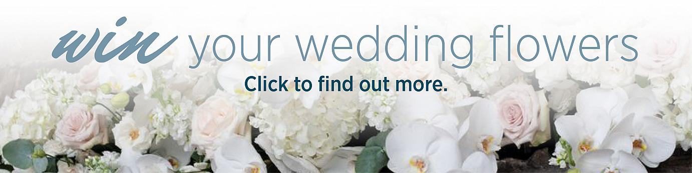 Win Your Wedding Flowers